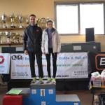 Alberto Mosca e Alice Gattoni vincono la prima edizione Cross dei due laghetti 2016 Verrone