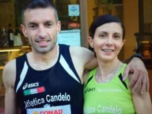 Alessandro Pisani (Atletica Candelo)  Simona Banfo (Atletica Candelo)